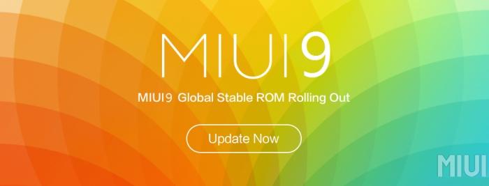 Скачать глобальную сборку MIUI 9 для первых смартфонов Xiaomi Mi6 Redmi Note 4X